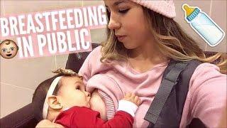 BREASTFEEDING IN PUBLIC-VLOGMAS 15 & 16