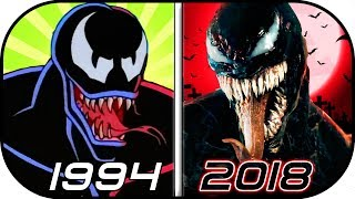 EVOLUTION of VENOM in Movies, TV, Cartoons, Anime (1994-2018) Venom trailer 2 2018 movie
