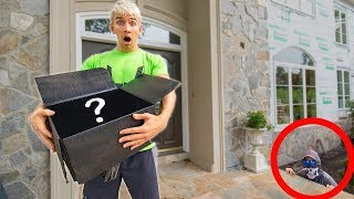 TOP SECRET MYSTERY PACKAGE FROM GAME MASTER SPY WITH ABANDONED EVIDENCE CLUES INSIDE!!