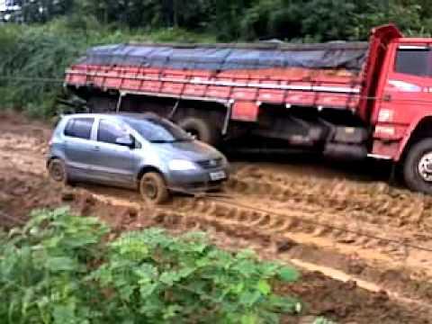Calamidade e vergonha na estrada da Bahia 2