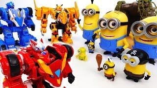Angry Minions VS Monster Kart Racing Team - ToyMart TV