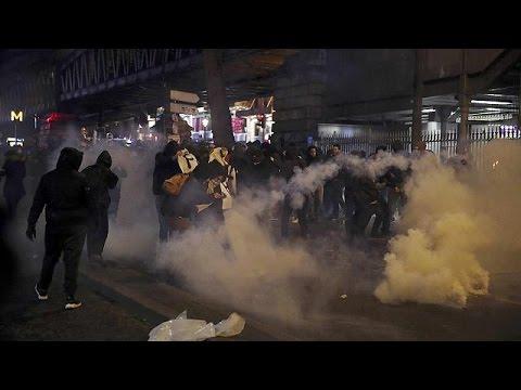 El barrio parisino de Barbès vive una tarde de enfrentamientos con la policía por el caso Théo