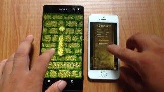 Speed test iPhone 5s vs Xperia C5 Ultra