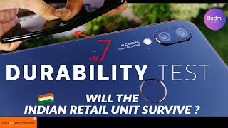 Redmi Note 7 (Pro) Durability Test- Will Indian Retail Unit Fail ? |Bend|Drop|Scratch|Sound Test|