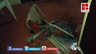 BJP District Committee Office Attacked in Trivandrum │Reporter Live