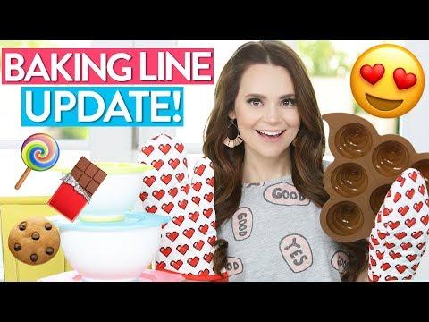 MY BAKING LINE IS HERE! (Pre-Order) + UPDATES