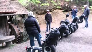Gelände Segway Touren im Süden der Steiermark