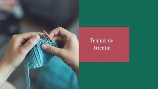 Tricotat-Scăderea spre dreapta-Varianta 1