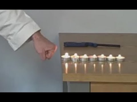 Karate Speed Training Advanced Candle Flame Punch