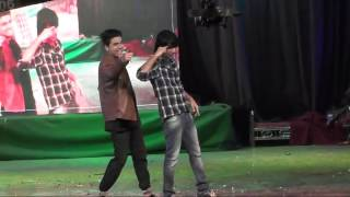 Sahil Khan and Lucky sunehre dance on malhari song at bidar show 2k16