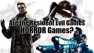 Are The Resident Evil Games Horror Games?