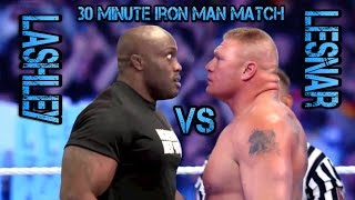 Bobby Lashley Vs Brock Lesnar
