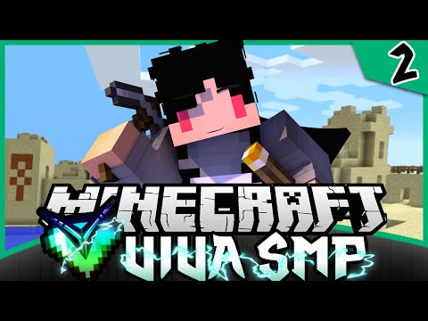 Minecraft Indonesia | VIVA SMP - Menemukan Desert Temple & Villager! #2