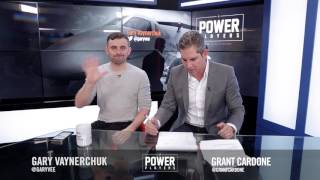 Gary Vaynerchuck and Grant Cardone Talk Building Businesses
