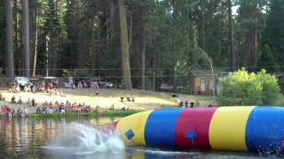 Hume Lake Blob Competition '09 - Steve and Justin