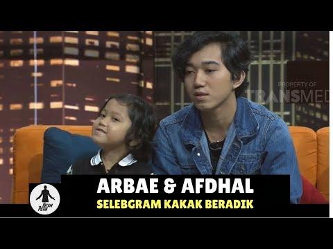 ARBAE & AFDHAL, SELEBGRAM KAKAK BERADIK | HITAM PUTIH (110118) 2-4