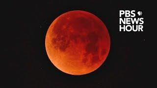 WATCH LIVE: Longest lunar eclipse of the century