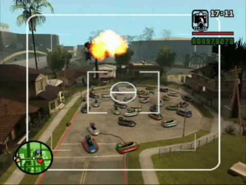 GTA San andreas Explosión Nuclear