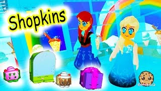Shopkins In My Cookie World & Fashion Frenzy Roblox Let's Play Online Games
