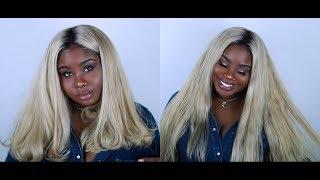 ♡ Blonde Bombshell Blunt Cut 👱🏿♀️