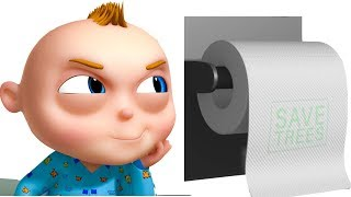 TooToo Boy - Toilet Paper Episode | Funny Cartoons For Children|Videogyan Kids Shows | Comedy Series