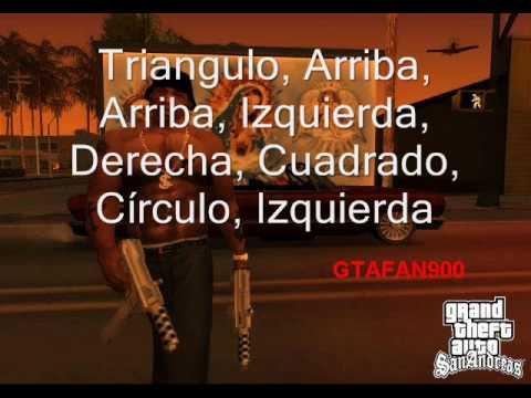 MUCHOS TRUCOS GTA SAN ANDREAS PS2