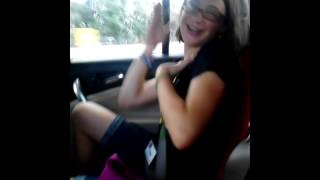 Caellen doing her seizure dance!!