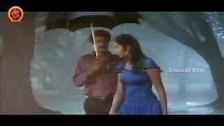 Divya Bharati Kissing Balakrishna In Rain || Dharma Kshetram Movie Scenes
