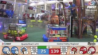 Quarterfinal 3 - 2017 Central Valley Regional