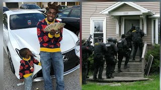 (Full) Police raid Kodak Black house and things get crazy when they ask for his phone