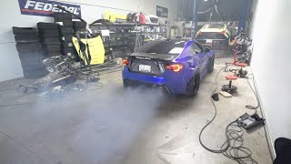 Making my brz as loud as possible