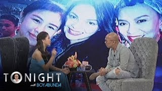 TWBA: Kisses on her friendship with celebrities older than her