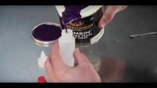 Airbrush Quick Tips - How to make a paint pourer using masking tape.