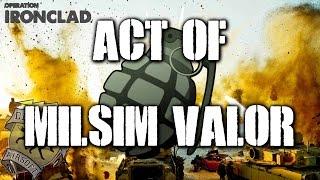 American Milsim Operation Ironclad Part 1: Act of Milsim Valor(Elite Force 4CRS)