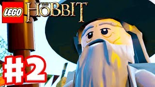 LEGO The Hobbit - Gameplay Walkthrough Part 2 - An Unexpected Party (Xbox One, PS4, PC)