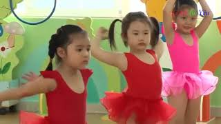Bai Tap The Duc Cho Tre Man Non (Exercise for preschoolers)
