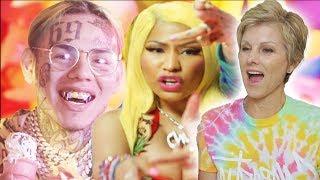 "Mom Reacts to 6IX9INE, Nicki Minaj - ""FEFE"" (HILARIOUS)"