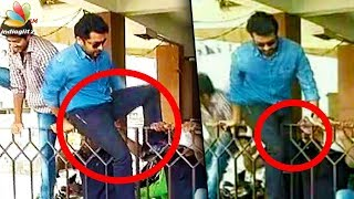Surya jumps gate to escape crazy fans! | Thaana Serntha Kootam, Gang Movie News