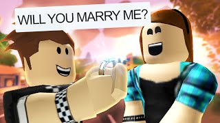 GETTING MARRIED IN ROBLOX