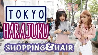 Shopping in HARAJUKU, JAPANESE Hair Salon &  Haul | ft. Sunnydahye HD