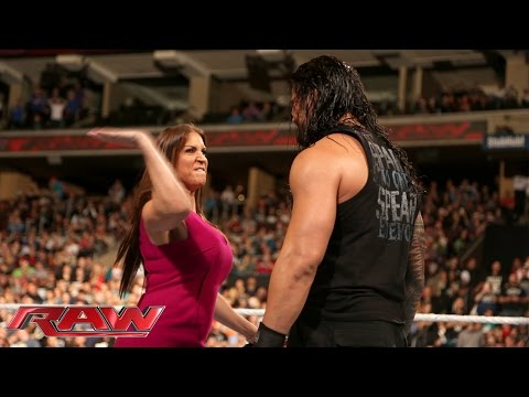 Xxx Mp4 Stephanie McMahon Is Furious With Roman Reigns Raw December 14 2015 3gp Sex