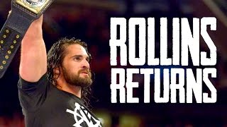 SETH ROLLINS RETURNS! WWE Extreme Rules 2016 Results (Going In Raw Ep. 70 w/ DAN NERDCUBED)