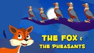 Short Stories For Kids | The Fox And The Pheasants | Baby Stories For Infants In English