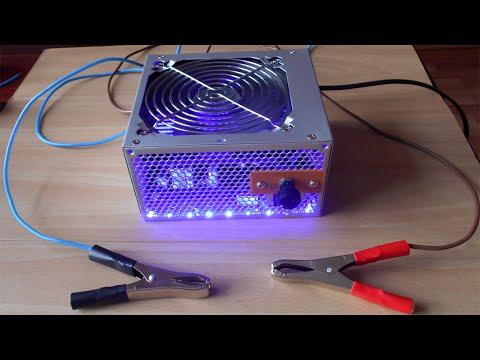 Как сделать из компьютерных блоков питания блок на 24 вольта