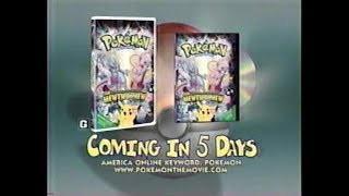 Pokemon The First Movie 5 Days VHS & DVD Commercial (2000)