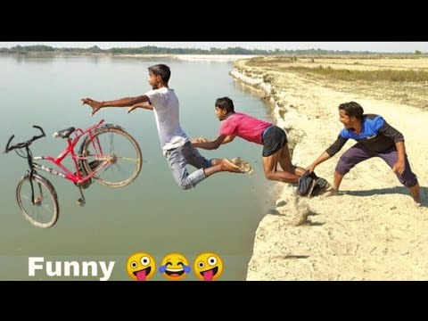 NON STOP FUNNY COMEDY VIDEO2020 Try not to Laugh Challenge by Bindass club