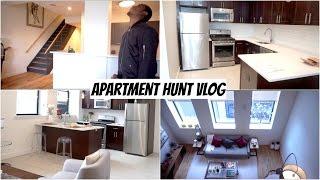 Apartment Hunting Vlog! | Couples Vlog
