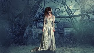Zombie girl  photo manipulation | photoshop tutorial cs6/cc smoke effect