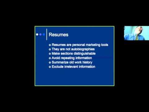 Résumés Interviews, and Licensing:  A primer for the Graduate Nursing Student