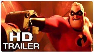 Incredibles 2 Trailer #2 Teaser - New Footage (2018) Superhero Movie HD